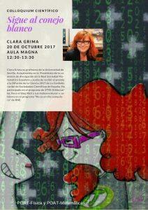 ClaraGrimaColloquiumCientifico